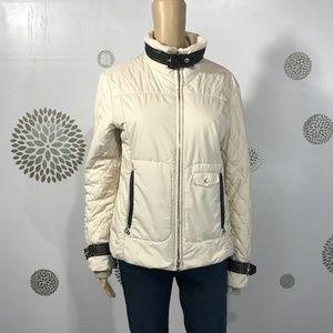 Bogner Off White Puffer Ski Jacket sz 8